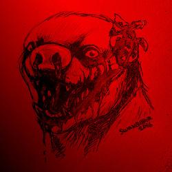 SKETCH BY SWANBEAR -- Horror Tica