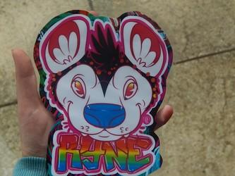 Eeeeeeee my badge is here!