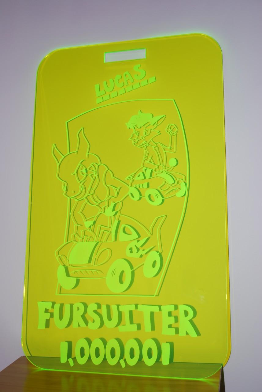 The 1,000,001st Fursuiter Badge!