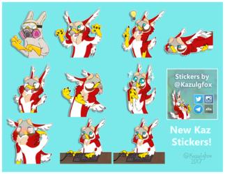 Kaz Stickers 2