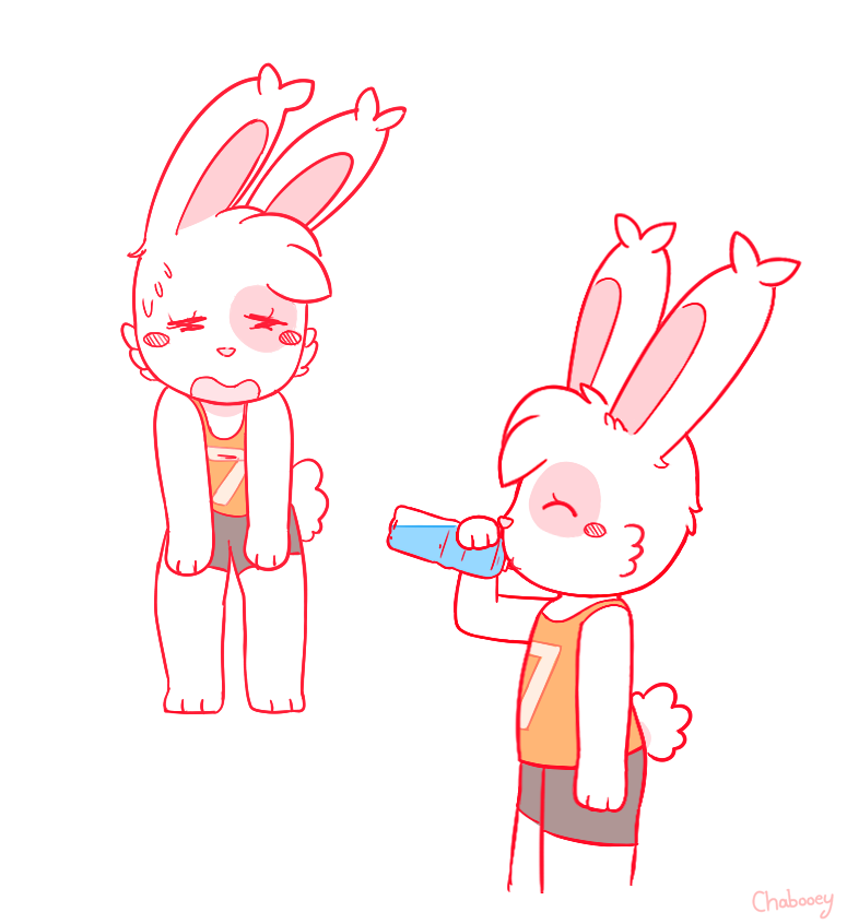 Most recent image: Stay Hydrated Bunny