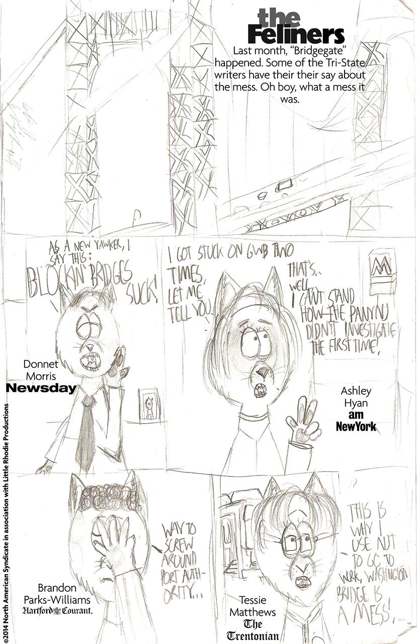 The Feliners: Bridgegate.(BOO!!!! *HISSSSSSSSS!!!*)