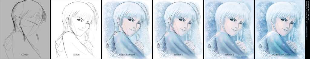 Snow Girl - Progression