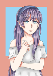 Girl Purple