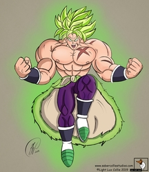 Broly (Colored)