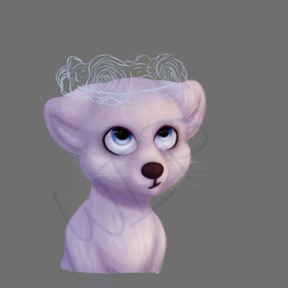 flower crown pup (wip)