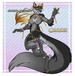 Character Adopt Carina Starting Bid $55