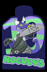 Confuzzled 2017 Badges - Nocuous