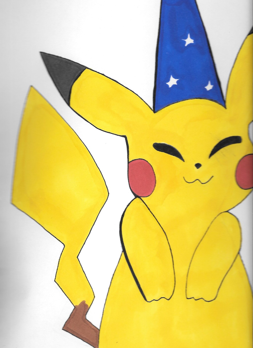 Happy Party Hat Pikachu