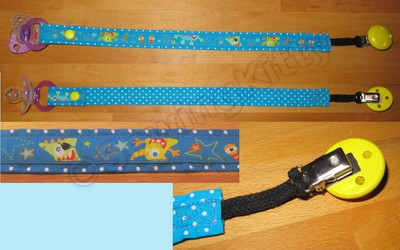 Pacifier Ribbon Clip for Dex