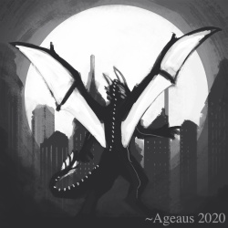 Tenebrae Nightdragon by Ageaus
