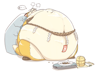 Charm of the weight gain, after...