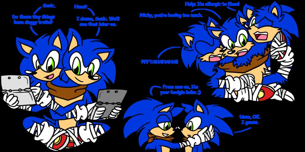 Sonic Boom doodles 3
