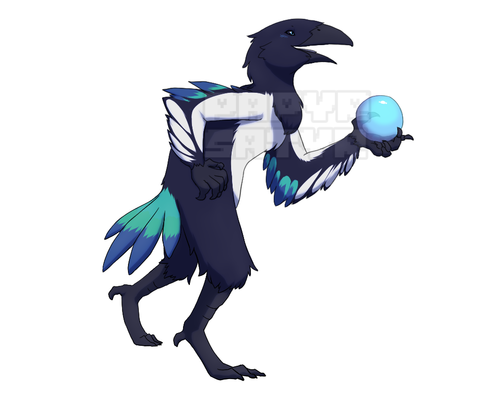 Most recent image: Maggie the Magpie Tengu
