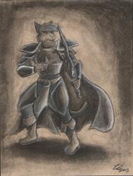[Old Art] Sir Kain by GunRapt0r