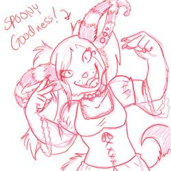 Sketch 1 Spooning Fairy
