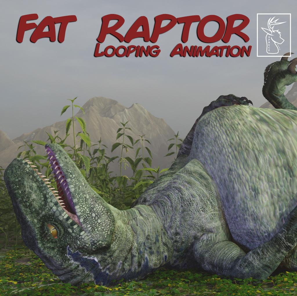 Most recent image: Fat Raptor