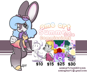 Summer Commissions are Open!