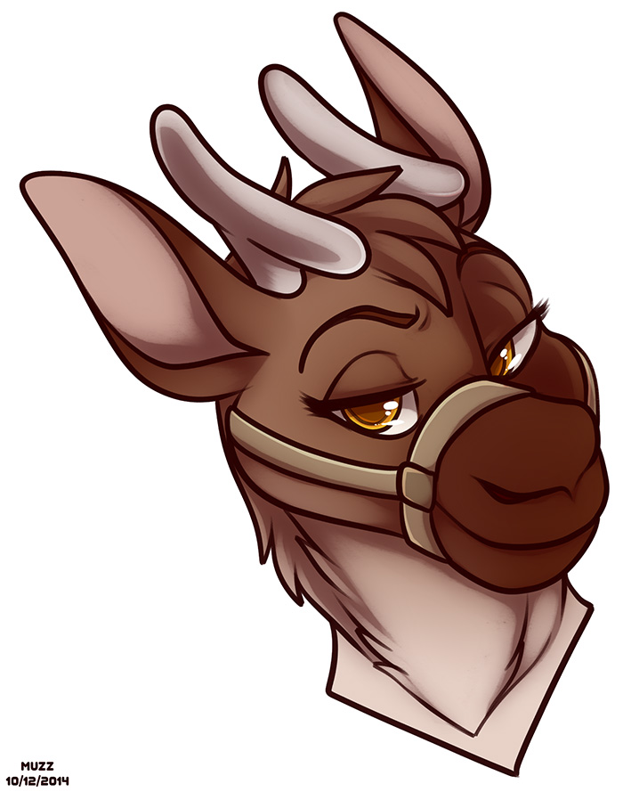 Featured image: Kauko the Reindeer Headshot by Muzz