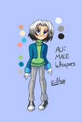 Character Drawcember Week 2 - AU Whispers Colored