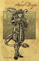 Aiden Bryne Fantasy Armor Commission
