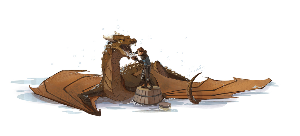 How to Bathe Your Dragon 2
