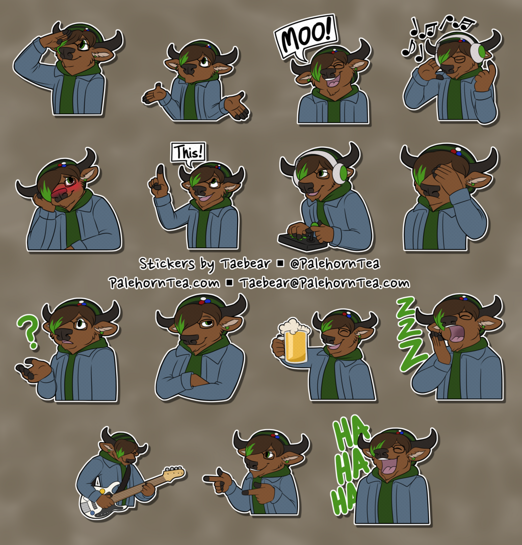 Areck Stickers