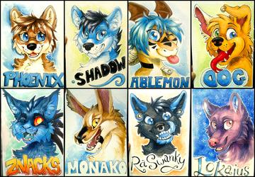 FurDU 2016 Badges