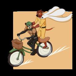 Lewmen Rider and One Punch Dan