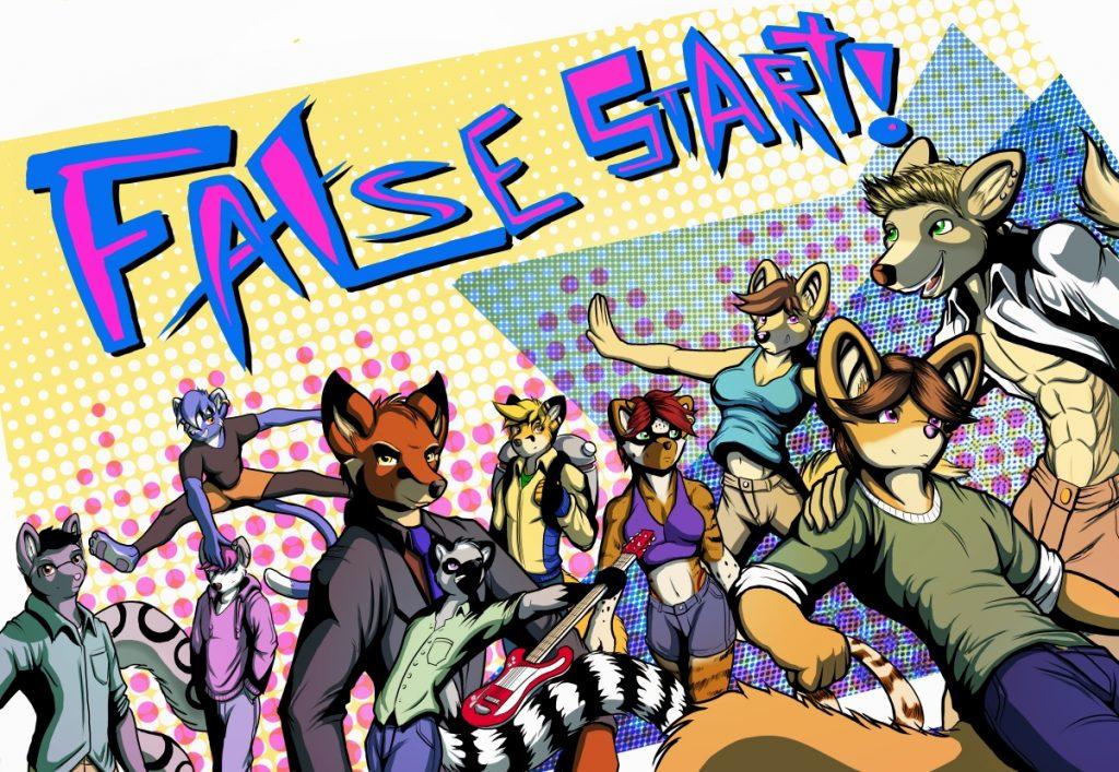 False Start Comic Issue #1