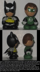 Batman and Green Lantern for Paulie