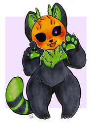 Pumpkin Cat [commission]