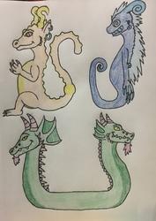Odd Dragons Adopts (3/3)
