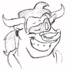 [commission] El Toro Expression Sheet