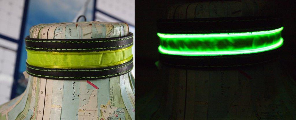 [sale] EL wire Neon yellow tape