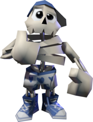 3D Skeleton dude