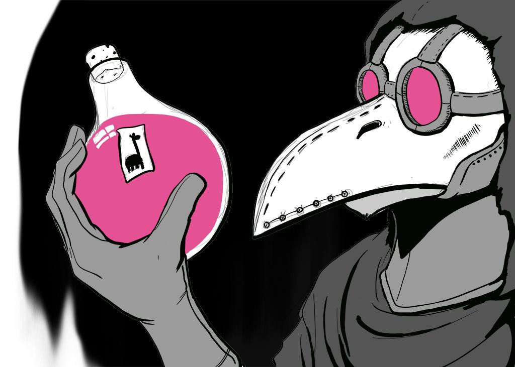 Inktober #3 - Poison