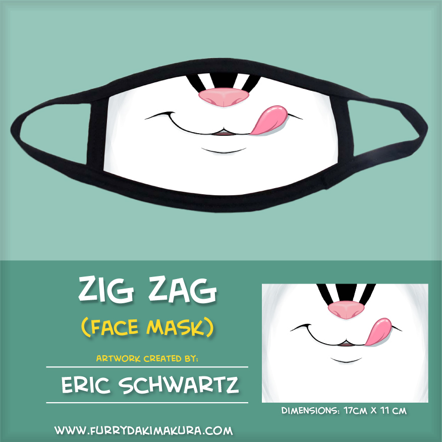 Zig Zag Face Mask by EWS