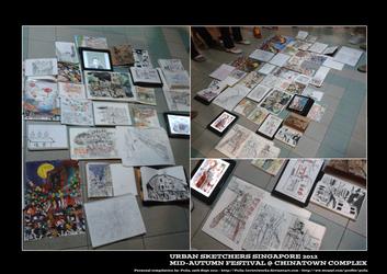 Urban Sketchers Singapore - Mid-Autumn Festival