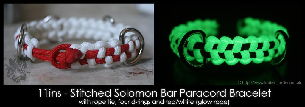 FangSnowpaws - Stitched Solomon Bar Bracelet
