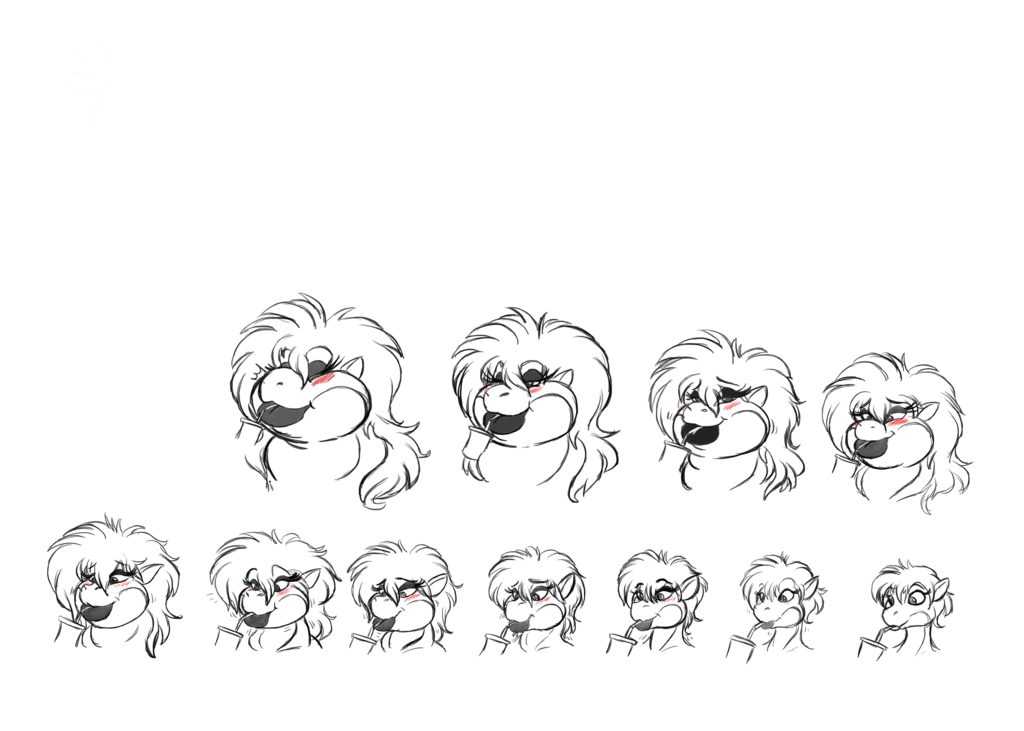 blakdragon oc face session