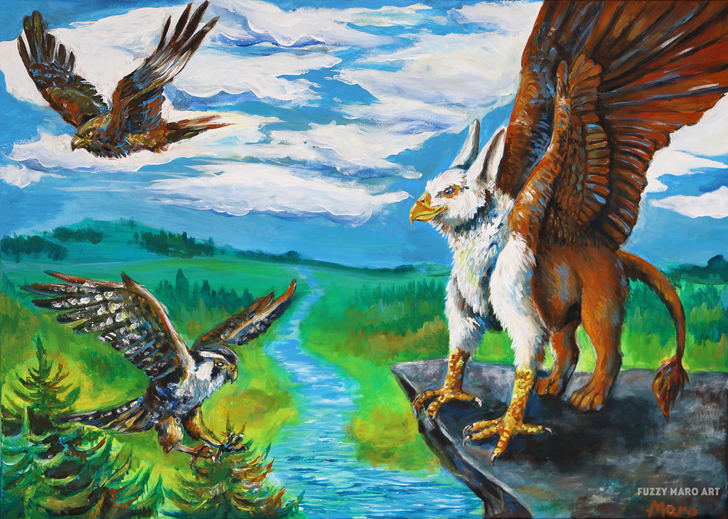 Friends of the gryphon