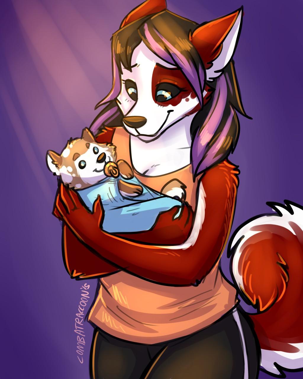 Mama Husky