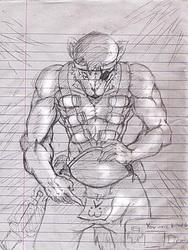 Senzuko Demowolf Sketch