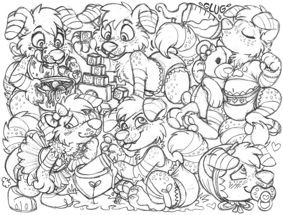 smilingsammi sketchpage commission (babyfur)