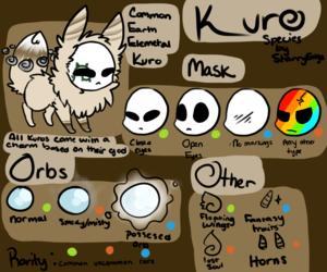 Kuro Species Guide (CLOSED SPECIES)