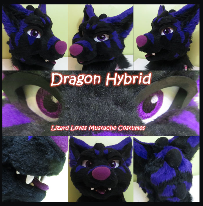 Dragon Hybrid-Fursuit Head