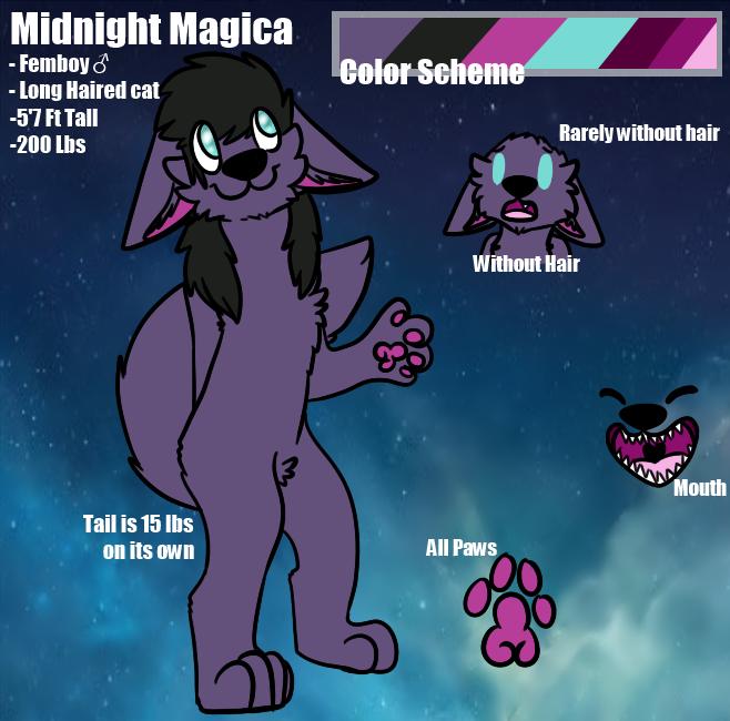 .:Commission:. Midnight Magica