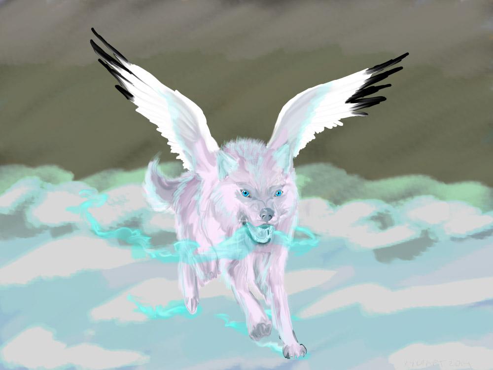 Frost Wolf Bird