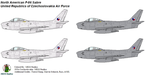Czechoslovakian Sabres